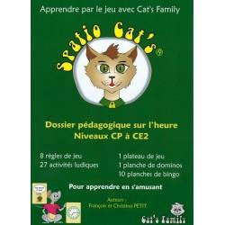 Spatio Cat's 3 - dossier pédagogique sur l'heure