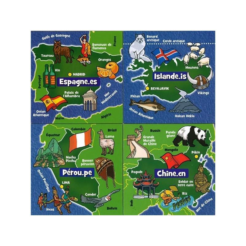 Brainbox voyage autour du monde - Decoration voyage autour du monde ...