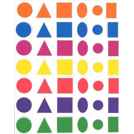 Gommettes géométriques