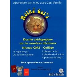 Mathé Cat's 2, dossier pédagogique CM2 - Collège