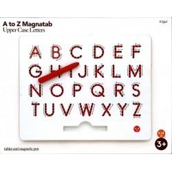 Magnatab alphabet majuscule