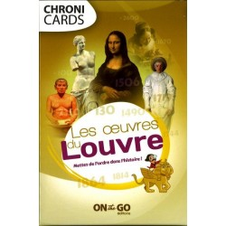 Chronicards, les oeuvres du Louvre