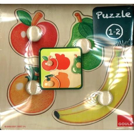 Encastrement fruits à gros boutons