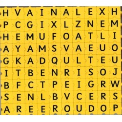 Morphun lettres majuscules