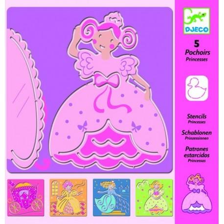 Pochoirs princesses