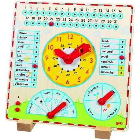 Horloge Calendrier Goki