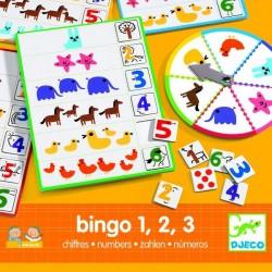 Bingo 1, 2, 3