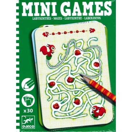 Mini Games Labyrinthes d'Ariane