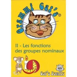 Grammi Cat's II - fonctions des groupes nominaux