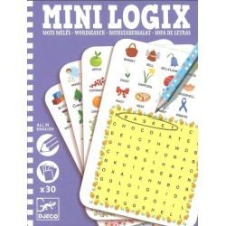 Mini Logix Mots mêlés anglais