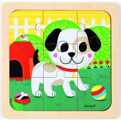 Puzzle chien Titus