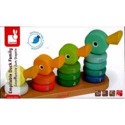 Empilable duck family