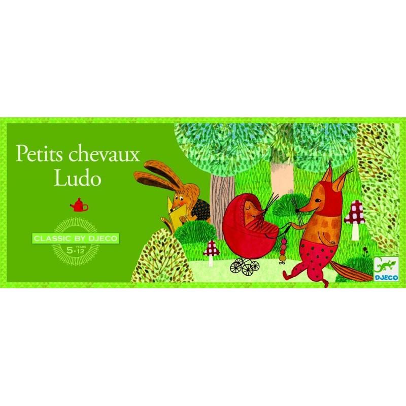 Favori Petits chevaux ludo - jeu de société enfants Djeco HM78