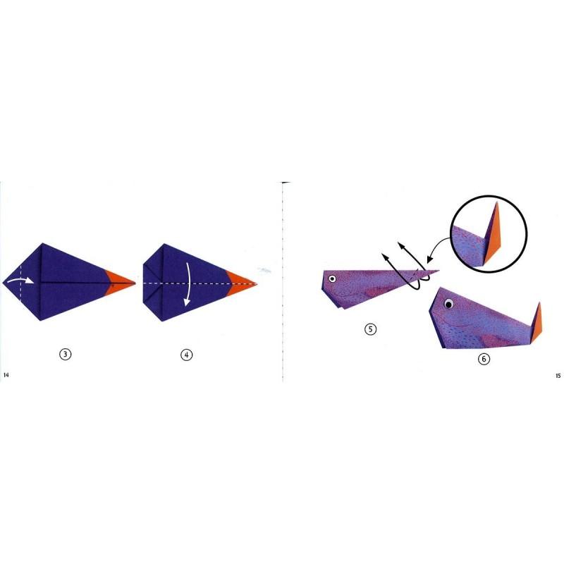Origami Facile Les Animaux Polaires Loisirs Créatifs Djeco