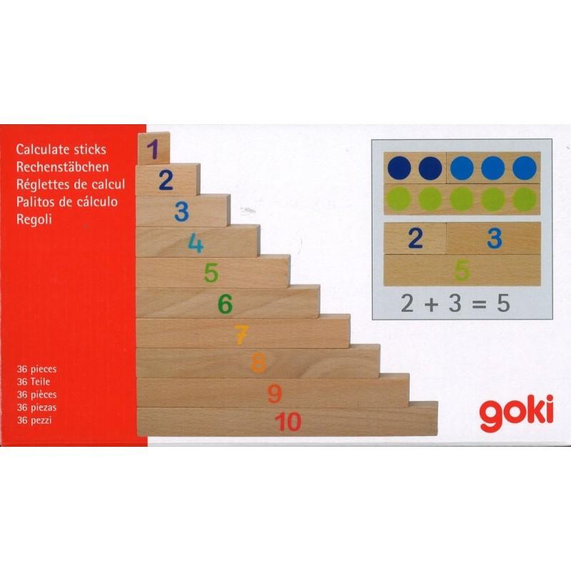 R 233 Glettes De Calcul Jeu Math 233 Matiques En Bois Goki