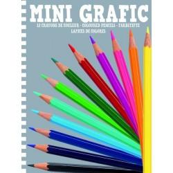 Mini Grafic Crayons de couleur