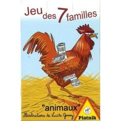 Jeu des 7 familles animaux