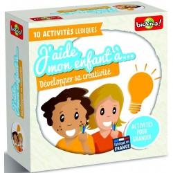 J'aide mon enfant à développer sa créativité