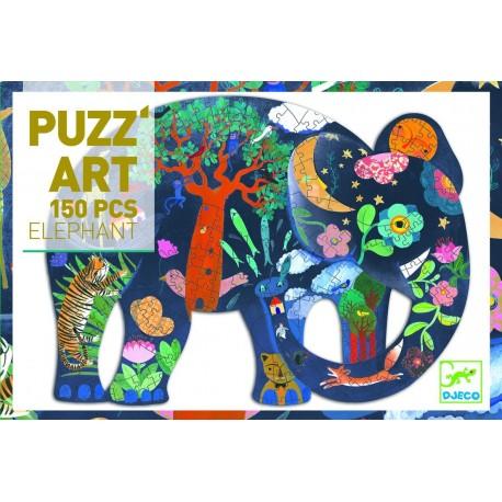 Puzz' Art Elephant