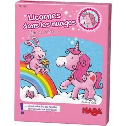 Licornes dans les nuages - jeu de cartes