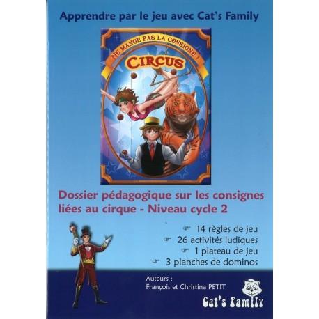 Ne mange pas la consigne Circus, dossier pédagogique cycle 2