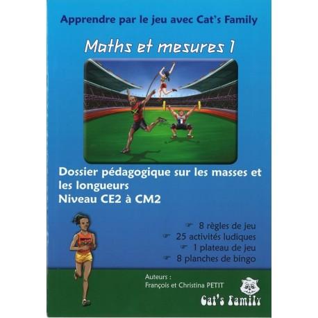 Maths et mesures 1, dossier pédagogique CE2 CM2