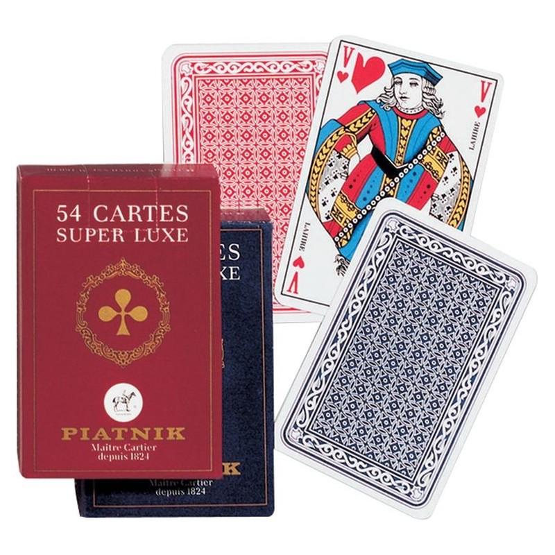 """Jeu 54 cartes """"Super Luxe"""""""
